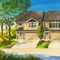 Lennar watercolor architectural rendering